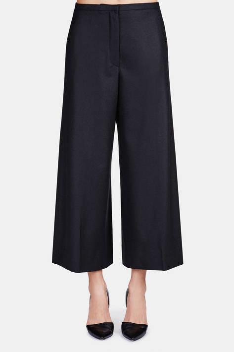 Lemaire — Large Pants (Short Version) - Black
