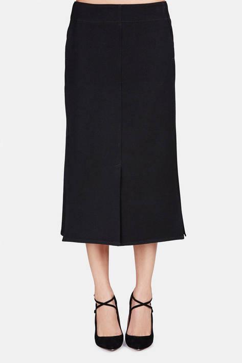 Lemaire — Four-Slit Skirt - Black