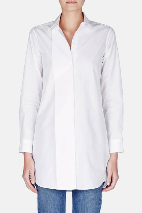 MM6 Maison Margiela — Cotton Poplin Shirt - White