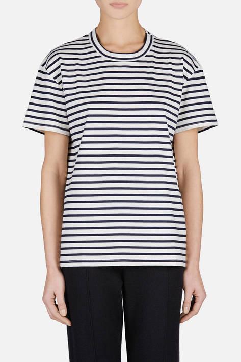 6397 — Stripe Russell T - Navy Stripe